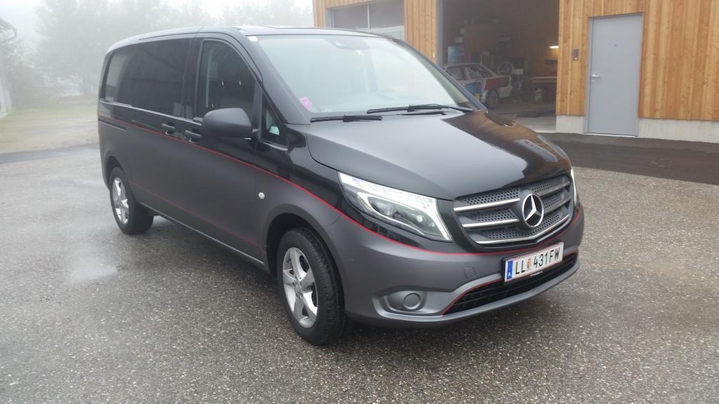 Mercedes - Vollfolierung