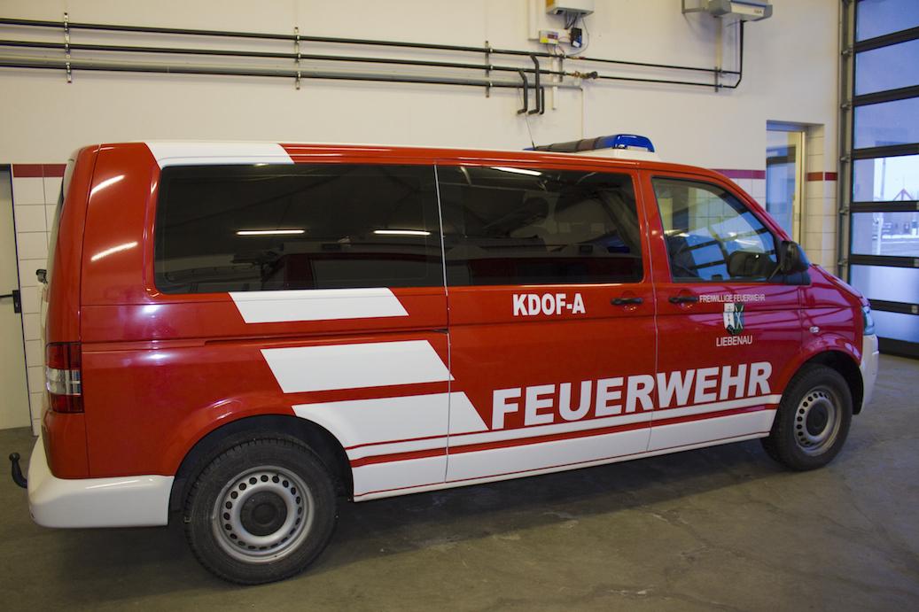 Feuerwehrfahrzeug - Basisfarbe Weiss
